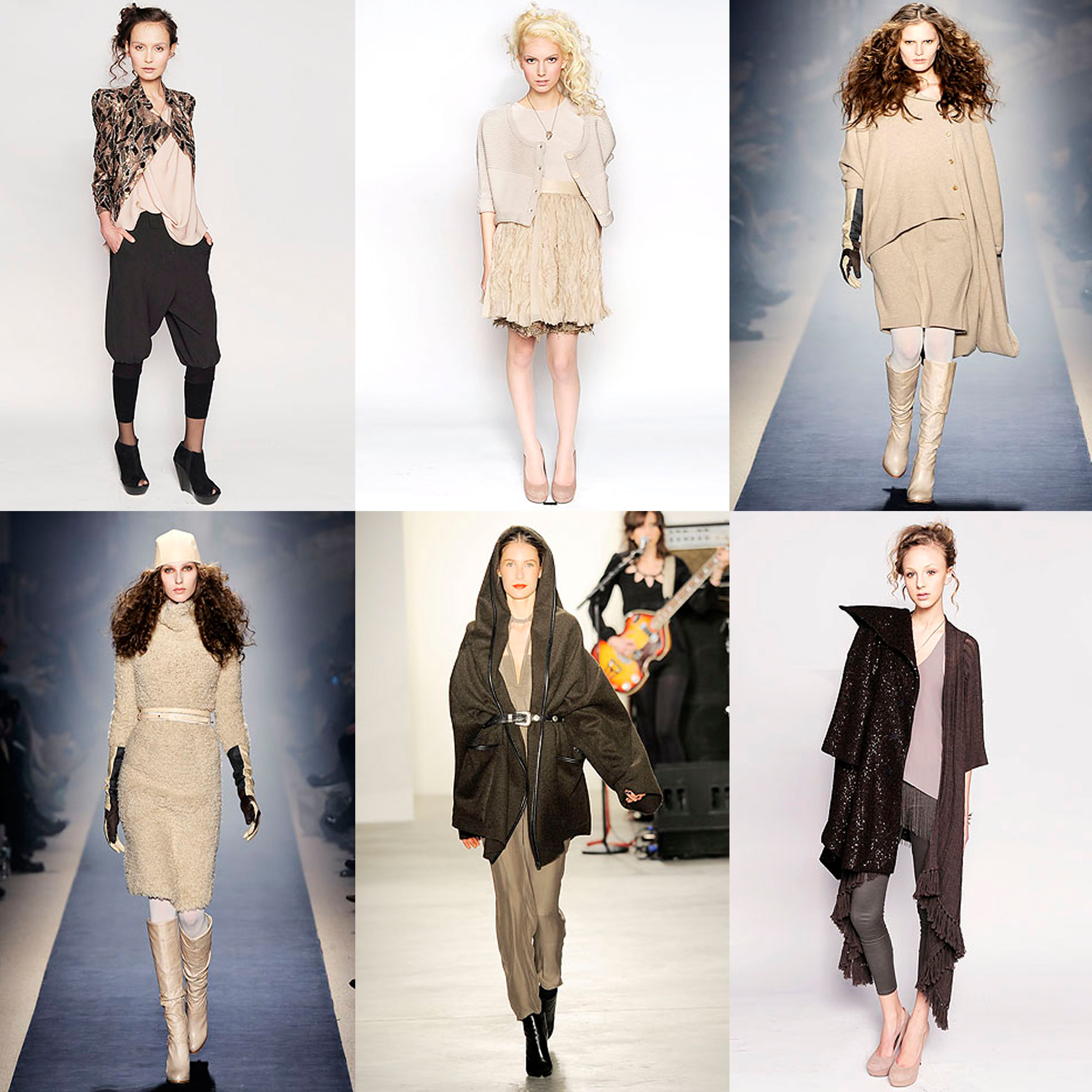 Fall 2010 Trends – Soft Tones in Creams, Pinks, and Browns